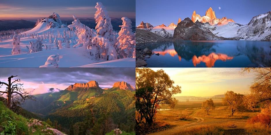 Beautiful Russian landscapes