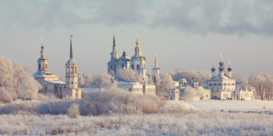 Veliky Ustyug: A northern city with old beautiful monasteries