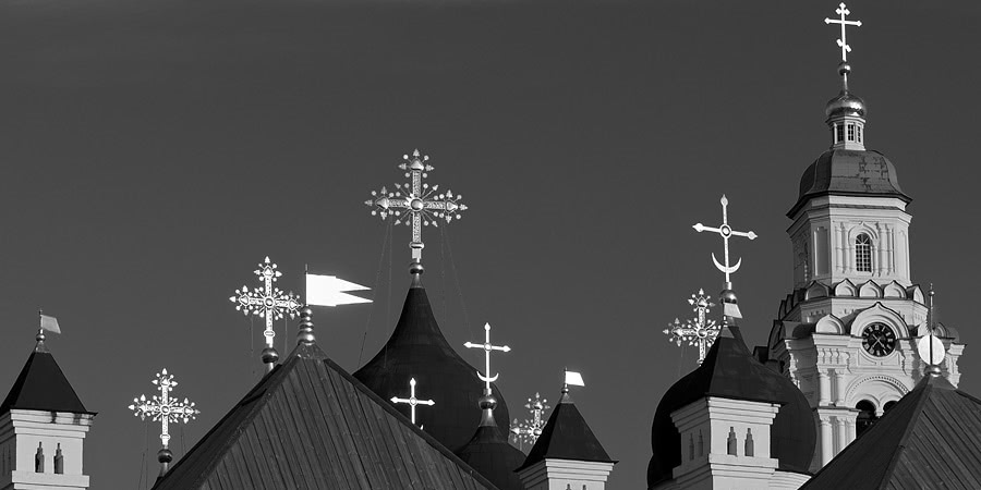 Enchanting Astrakhan: Glorious black and white photos of the city