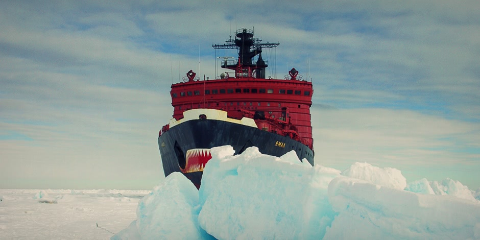 Breaking the ice: Russian nuclear powered icebreaker Yamal