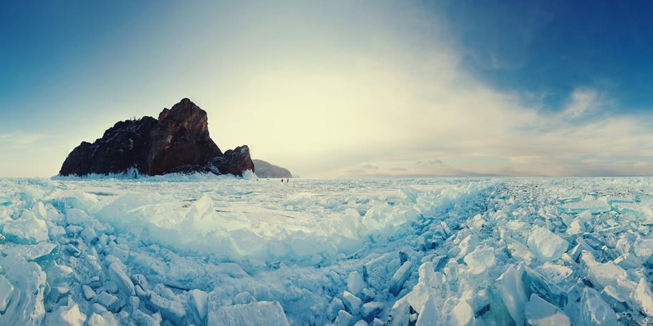 Lake Baikal and Olkhon Island: Wonderful ice world of cold Siberia