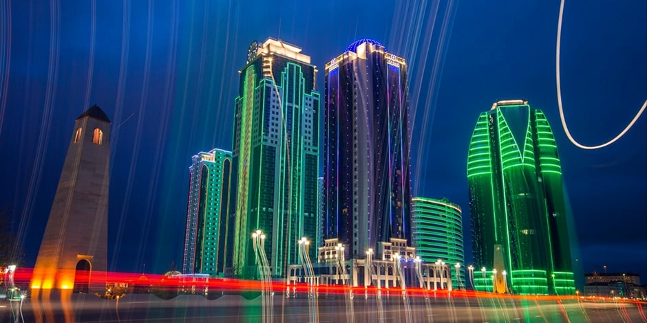 Modern Grozny: Walking around the capital city of Chechen Republic