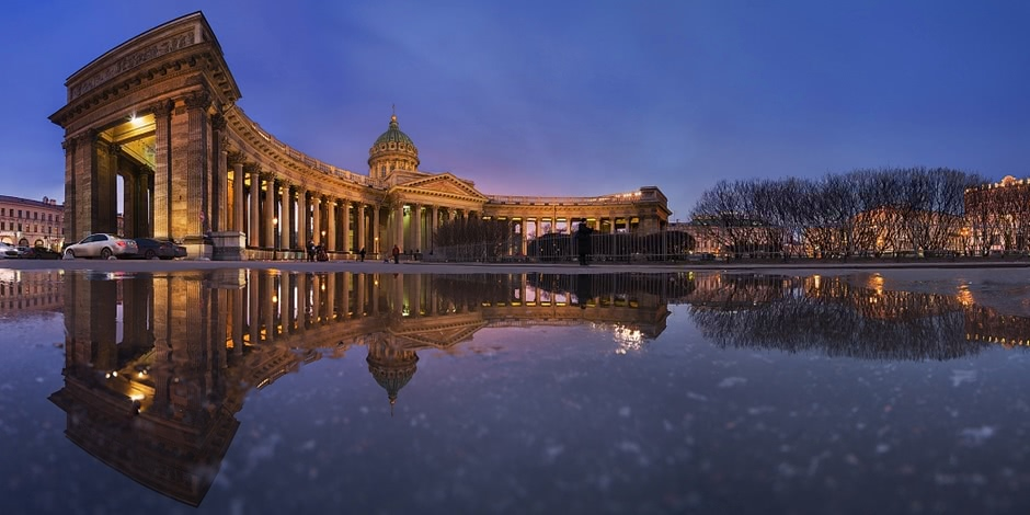 Night Saint Petersburg: Amazing photos of the city by Sergey Louks