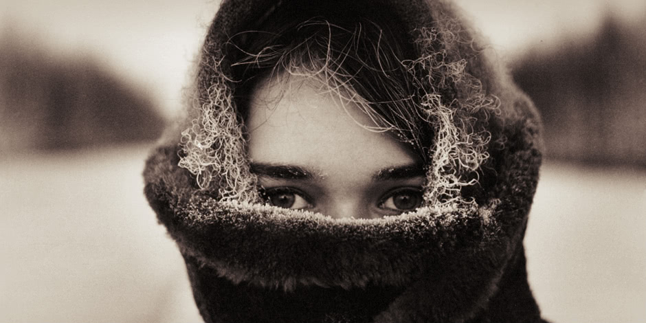 Vintage photos of the harsh winter in the era of Soviet Union