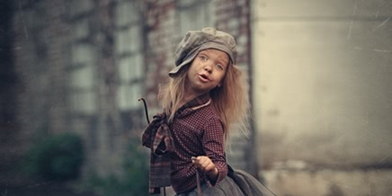 Photos of cute kids by Russian photographer Nadezhda Shibina