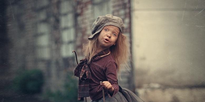 Photos of cute kids by Russian photographer Nadezhda Shibina