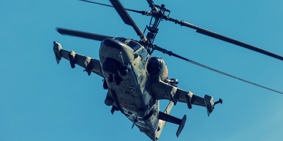 Russian military helicopters from MAKS 2013 Air Show