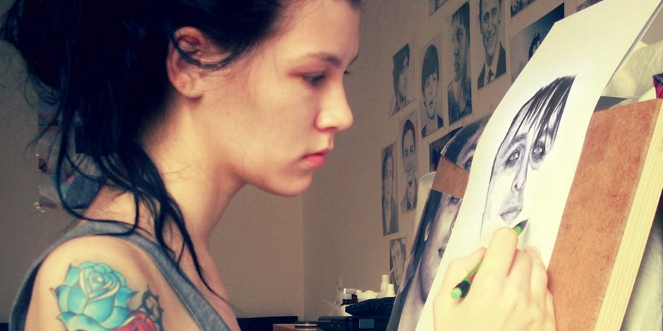 Creativity by Natasha Kinaru: Drawn pictures of celebrities
