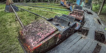 Photo of Lost childhood: Abandoned amusement park in Saint Petersburg