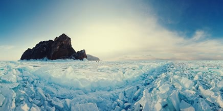 Lake Baikal and Olkhon Island: Wonderful ice world of cold Siberia