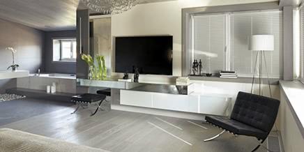 Nice villa interior by architectural bureau of Alexandra Fedorova
