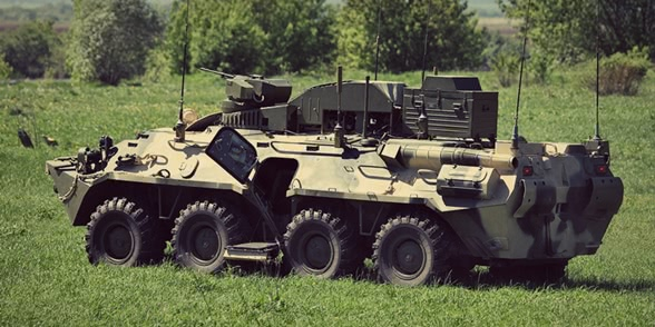 BPDM Typhoon-M: Russian counter-sabotage combat vehicle