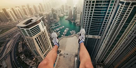 Breathtaking height: Photos by Russian thrill-seeker Marat Dupri