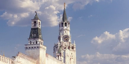 Reconstruction: White Moscow Kremlin and Red Square in 1800