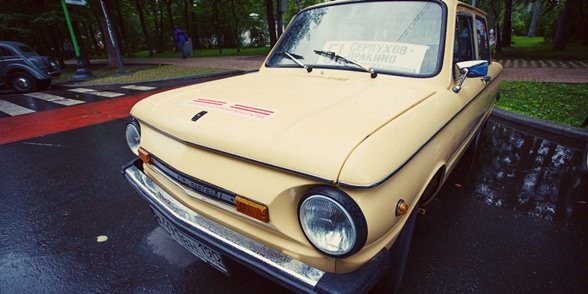 Retro Fest: 3rd festival of retro cars and antiques in Sokolniki Park
