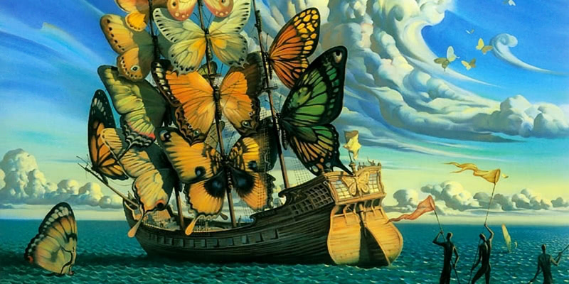 Russian Salvador Dali: Surrealistic paintings by Vladimir Kush