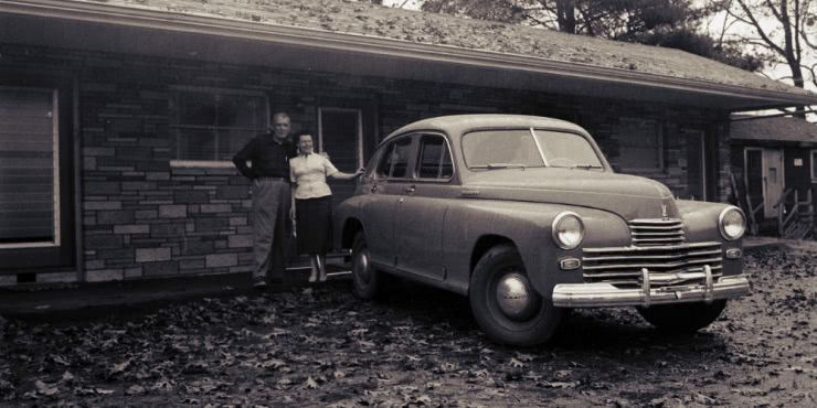 Legendary Soviet car GAZ-M20 Pobeda in the United States
