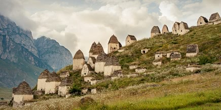 Necropolis of Dargavs: The city of 10 000 dead in North Ossetia