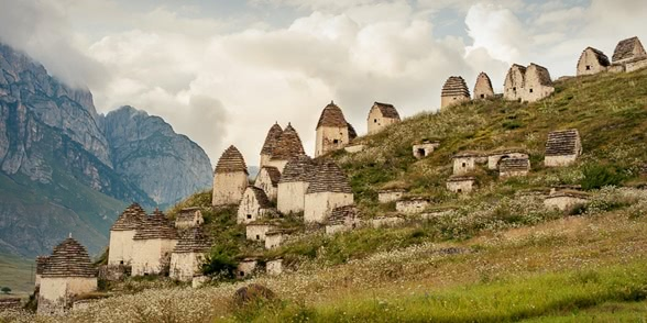 Necropolis of Dargavs: The city of 10 000 dead in North Ossetia