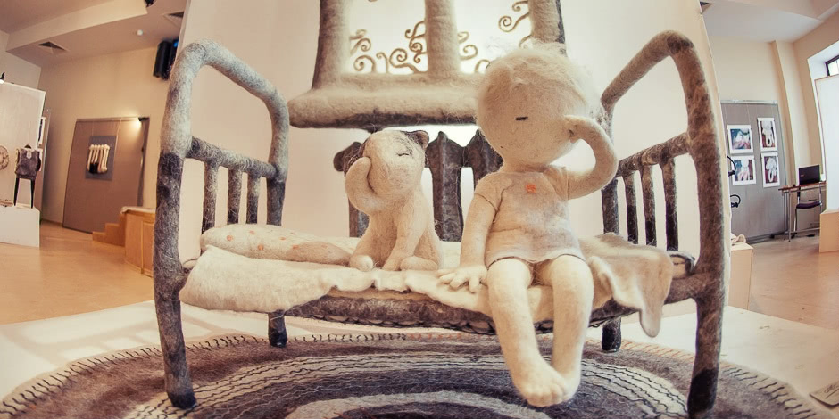 Soulful art: Magnificent hand-made felt dolls by Irina Andreyeva