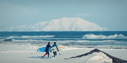 Surf in Siberia: Who said that Russia and surfing are not compatible