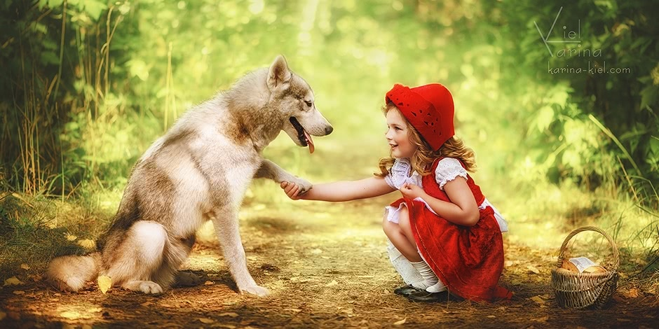 Children's wonderland: Magic photography of kids by Karina Kiel