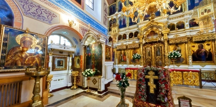 Webcam: Inside the St. Peter and St. Paul's Church in Moscow