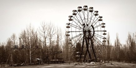 Gloomy moments from the Chernobyl Exclusion Zone