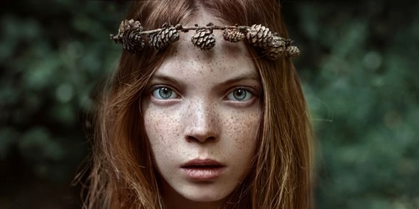 45 fabulous portraits by Ukrainian photo artist Irina Dzhul