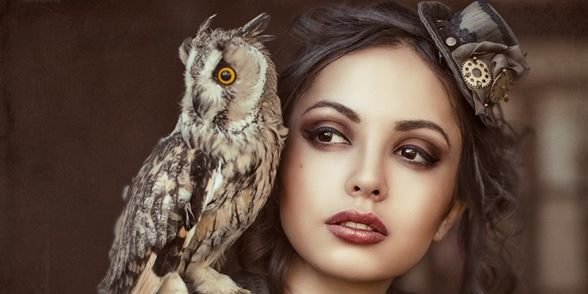 Fascinating portraits by the photographer Galiya Zhelnova