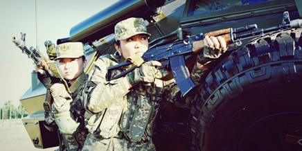 Feminine Armed Forces: Girls from the army of Kazakhstan