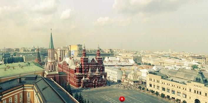 Virtual online tour around the Moscow Kremlin
