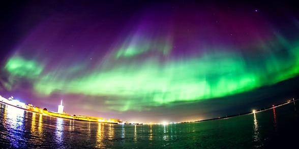 Aurora Borealis: Bewitching Northern Lights in Arkhangelsk