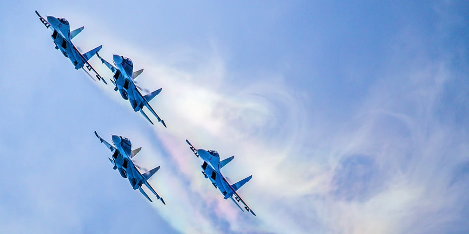 MAKS 2015: The best photos from the air show in Moscow
