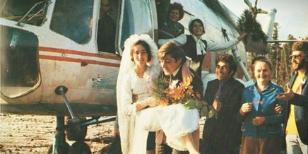 Photo of Colour of Soviet weddings in photographs of the bygone era