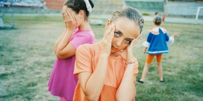 Ambiguous photos of the kids camp Artek by Claudine Doury