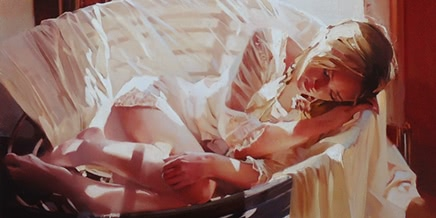 Photo of Good morning, beautiful woman: Paintings by Alexey Chernigin