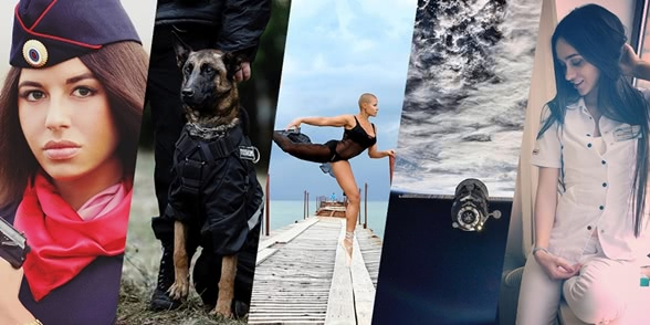 Top 5 Russian Instagram accounts of the year 2016