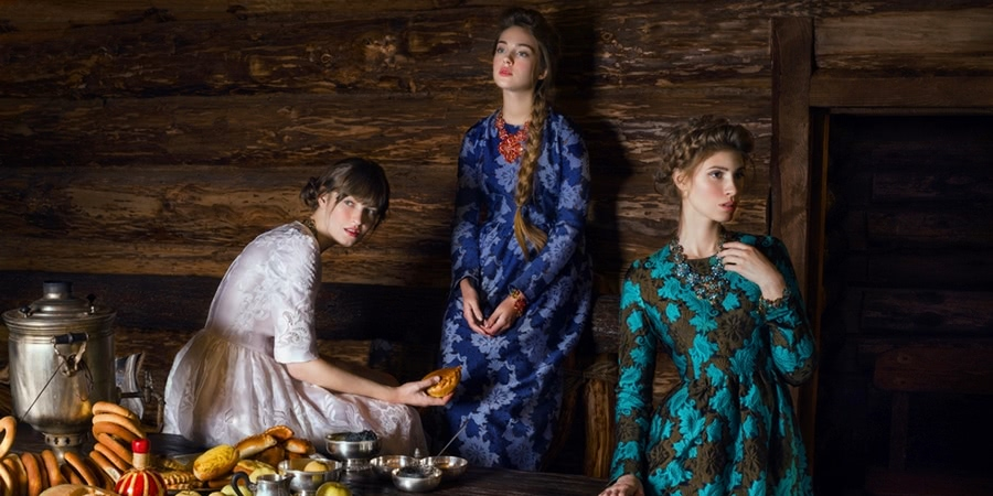 Beauty of Slavic folklore in photos by Andrey Yakovlev