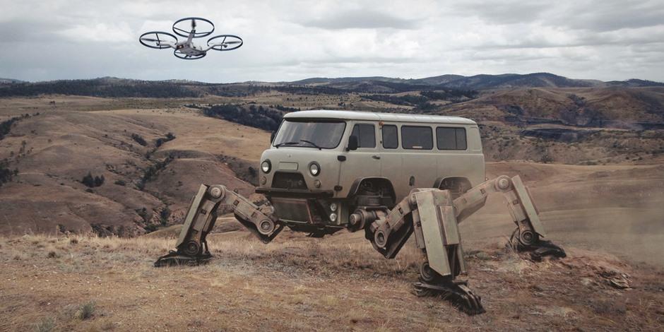How Russia will look like in 2077: Cyberpunk by Evgeny Zubkov
